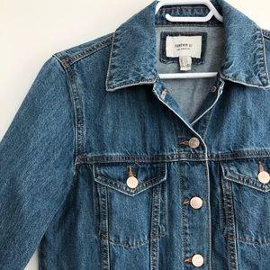 """Long """"jean"""" jacket"""